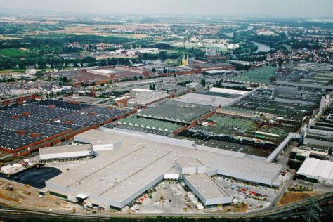 Neues Opel-Werk in Rüsselsheim