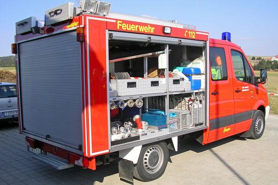 Selbst kleine Tragkraftspritzenfahrzeuge wiegen selten weniger als 3,5 Tonnen.