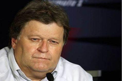 Norbert Haug darf sich endlich über den ersten Saisonsieg freuen