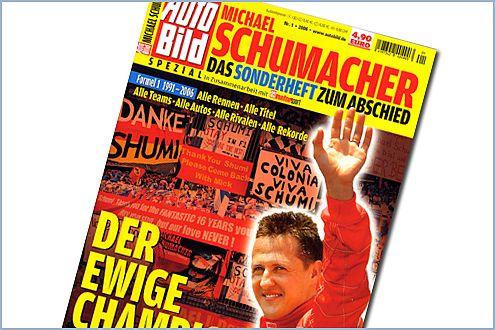 """""""Der ewige Champion"""": 100 Seiten, 500 Fotos, alle wichtigen Momente. Im Zeitschriftenhandel  für 4,90 Euro."""
