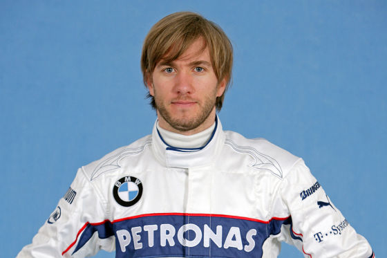 BMW-Sauber Pilot Nick Heidfeld