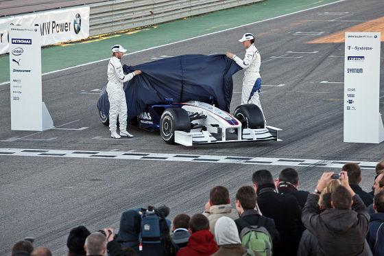 BMW-Sauber Präsentation 2009
