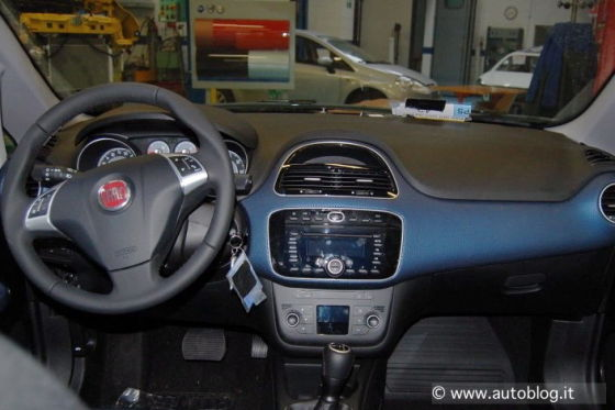 Facelift Fiat Grande Punto
