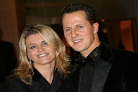 Corinna und Michael Schumacher sind seit Jahren glücklich verheiratet