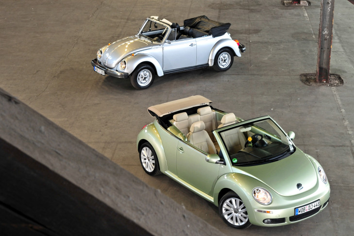 VW New Beetle Cabriolet (seit 2002)