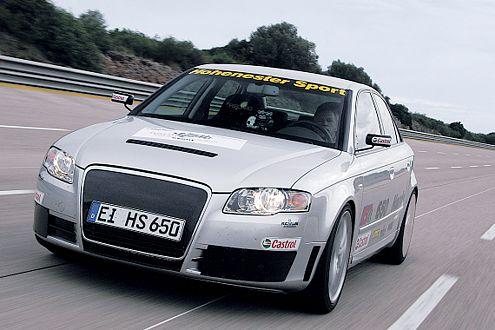 Hohenester tritt mit einem A4 aufs Gas – 650 PS reichen für Platz vier.