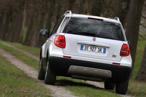 Fiat Sedici Facelift (2009)