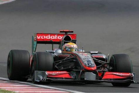 Lewis Hamilton brachte den silbernen Stern in Ungarn auf Hochglanz