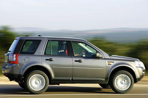 Bravo! Der Freelander zeigt sich als stimmiges SUV.