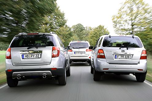 Drei Gewinner: In allen Fällen wird viel Auto fürs Geld geboten.