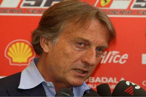 Ferrari-Präsident Luca di Montezemolo setzt jetzt auf Ersatzmann Luca Badoer