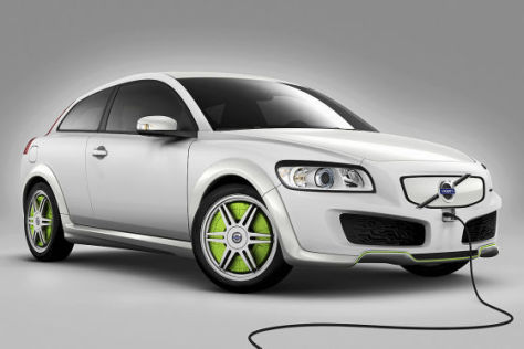 Volvo ReCharge Concept, plug-in hybrid aif C30 Basis
