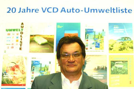 Gerd Lottsiepen vom Verkehrsclub Deutschland (VCD)