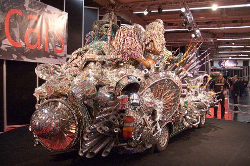 Ist das wirklich ein Auto? Atomic Dog heißt diese unglaubliche Kreation.