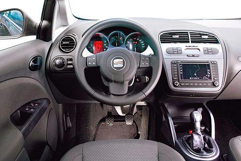 Das Seat-Cockpit ist auch nach dem Facelift das alte geblieben.
