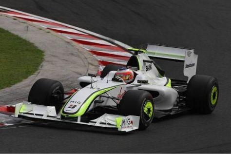 Rubens Barrichello und das Brawn-Team kehren aus der Sommerpause zurück