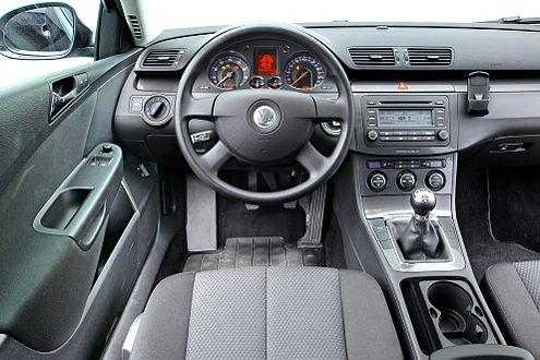 Der Passat bietet tolle Qualität, die Ausstattung ist aber mager.
