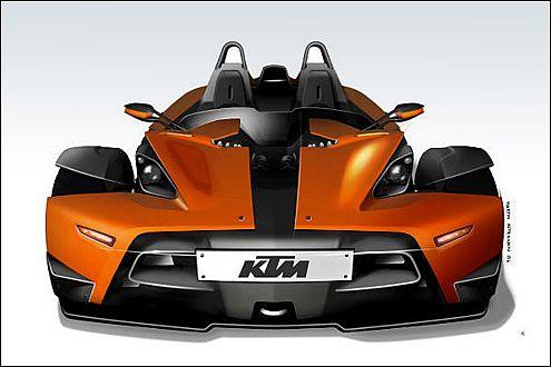 KTM X-Bow: Kleinserie von jährlich 500 Stück ist denkbar.