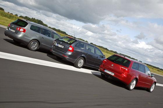 VW Passat Variant Skoda Octavia Combi Seat Exeo ST