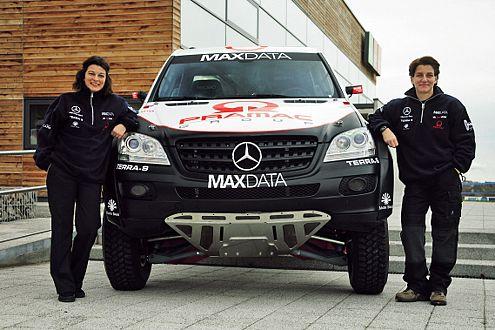 Lohrs Arbeitsgerät: Prototyp auf Basis Mercedes M-Klasse (270 PS).