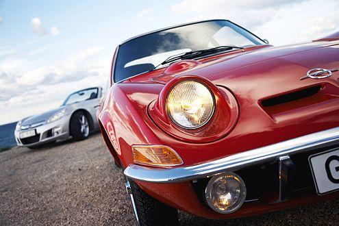 Würdevoller Ahne: Das 68er Coupé GT gab den Namen.