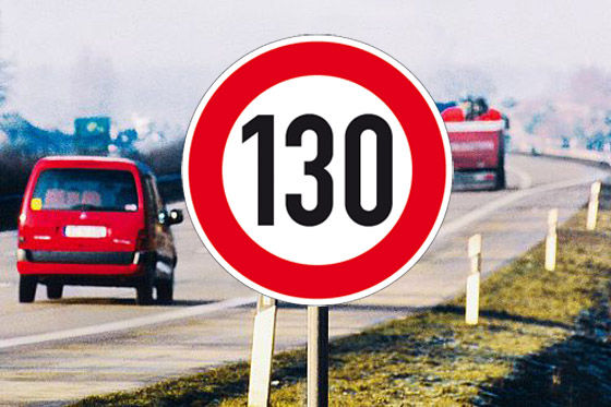 Tempolimit 130 km/h