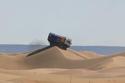 Für Volkswagen im Einsatz: Renn-Trucks vom Typ MAN L90.