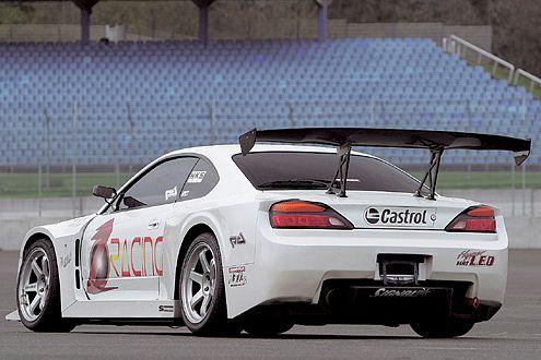 Der Nissan S15, im Verkauf Silvia genannt, zählt zu den Drift-Spezialisten.