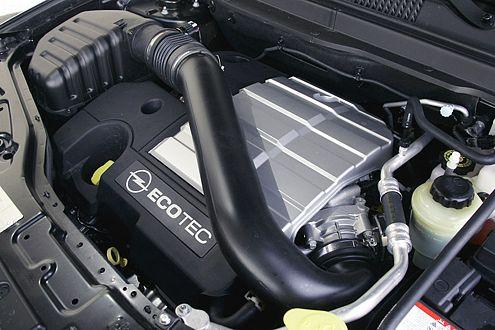 Topmotorisierung: sechs Zylinder, 3,2 Liter Hubraum, 227 PS.