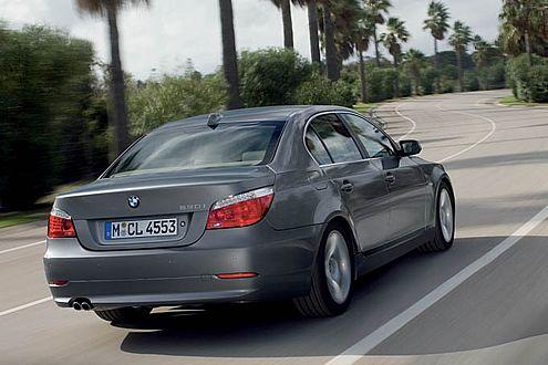 Auf den ersten Blick nicht vom alten zu unterscheiden: der neue BMW 5er.