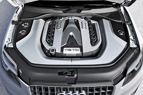 Dickes Ding! Der V12 TDI liefert 500 PS und 1000 Nm Drehmoment.