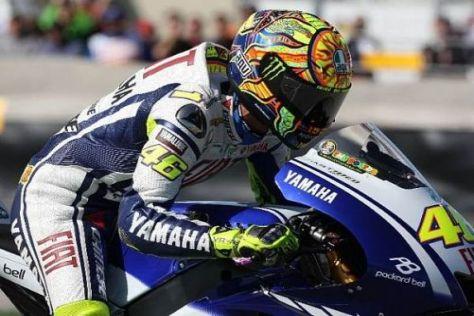 Weltmeister Valentino Rossi tritt in Misano vor heimischer Kulisse an
