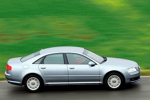 Ups: Der Zuziehmechanismus des Heckdeckels klemmt beim Audi.
