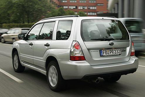 Subaru Forester: Bei den Kosten o.k., aber der Wertverlust schmerzt.
