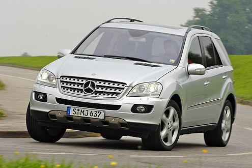 Könnte mehr Rückmeldung vertragen: die Lenkung des Benz.