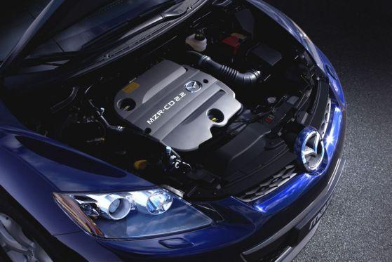 Mazda CX-7 mit SCR-Abgasreinigung