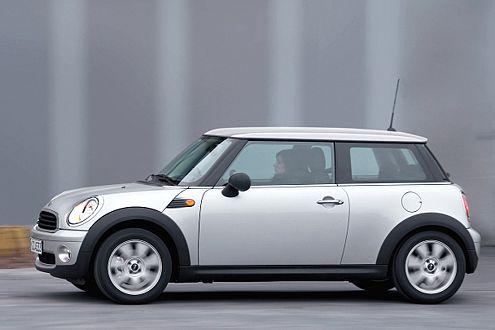 Noch ein Nachzügler im neuen Design: der Mini One.