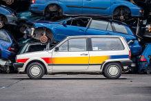 Dreiliter-Polo aus den 80ern
