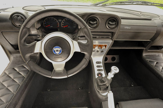 Melkus RS 2000 Cockpit