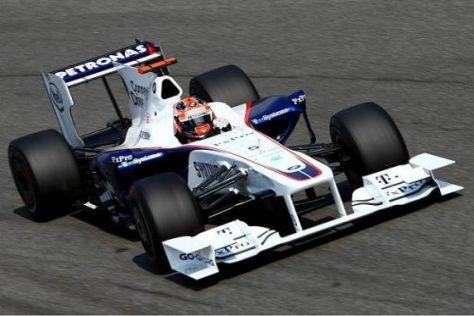 Robert Kubica belegte im 2. Freien Training den fünften Rang