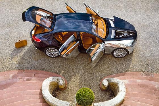 Bugatti Konzept 16 C Galibier (IAA 2009)
