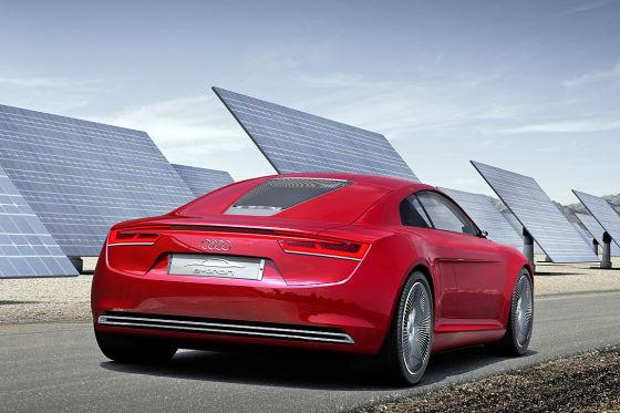Audi R8 e-Tron Studie