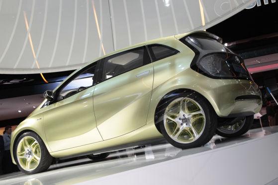 Mercedes E-Cell Blue Zero Plus