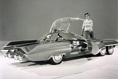 Das Atomauto Ford Seattle-ite XXI von 1962 sollte 340 PS haben.