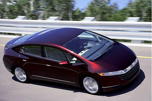 Honda FCX Concept: Ab 2008 in Japan und den USA erhältlich.