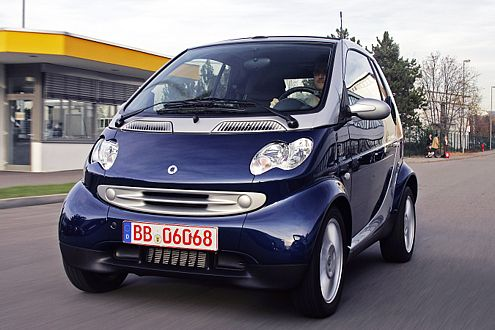Smart EV: In England erprobt Smart 100 Stromversionen seines fortwo.