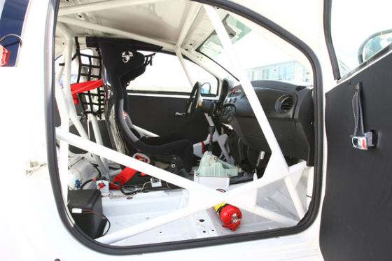 Fiat Abrath 500 A.C. Track Test