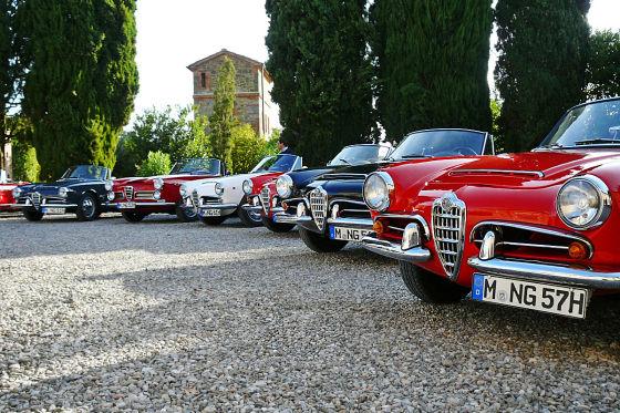 Alfa Romeo Spider Nostalgic