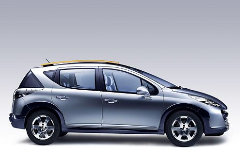 So kommt der Kleine große raus: Peugeot 207 als Kombi.