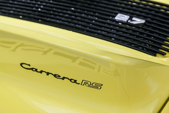 Report: Porsche Carrera RS 2.7